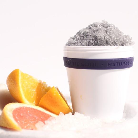 Charcoal + Magnesium Scrub