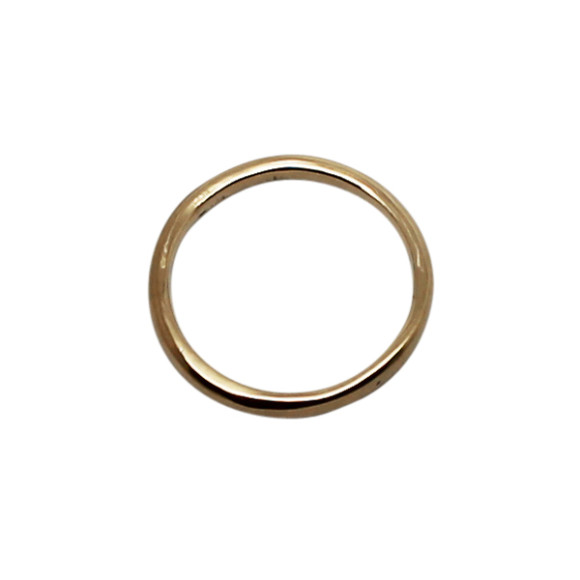 Custom Gold Wedding Band