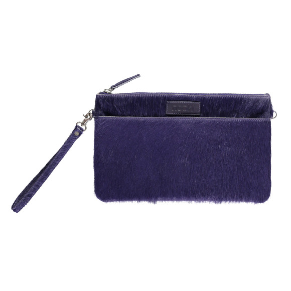 Luxe clutch purple