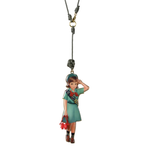Scout girl necklace