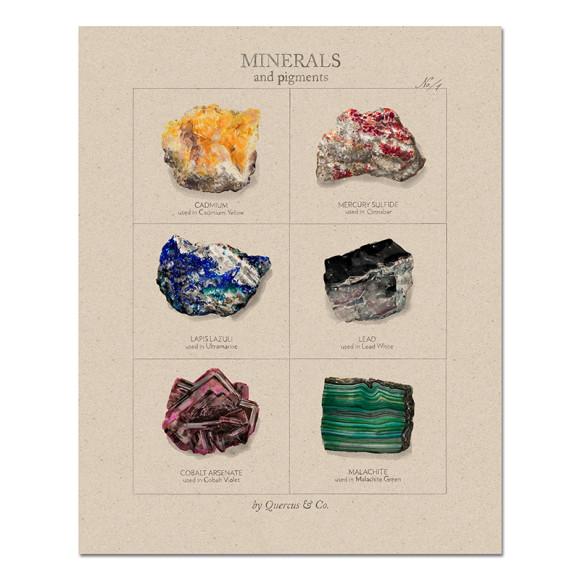 Minerals Number 1 - 40x50cm