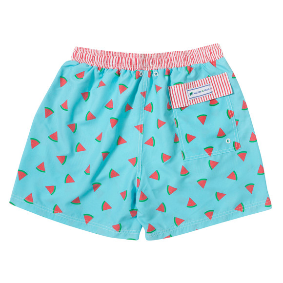 Watermelon is the epitome of the summer season, so sit back, relax, and grab something sweet in these Watermelon Shorts. Fresh and fun, these darling shorts have an elasticized back waist, button detail and functional pockets.