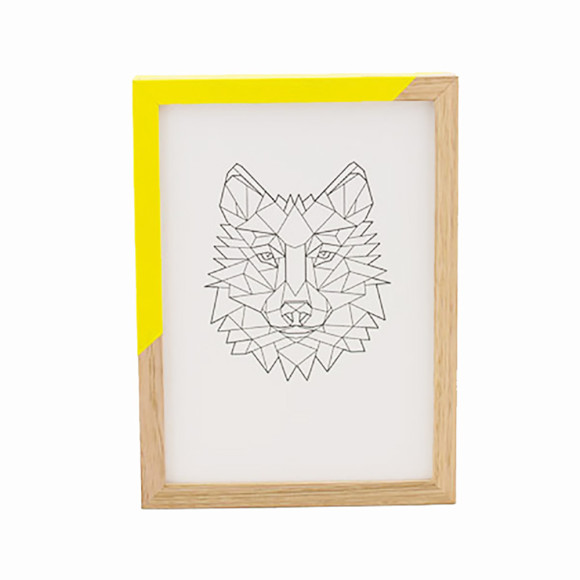 Zap Frame - Yellow