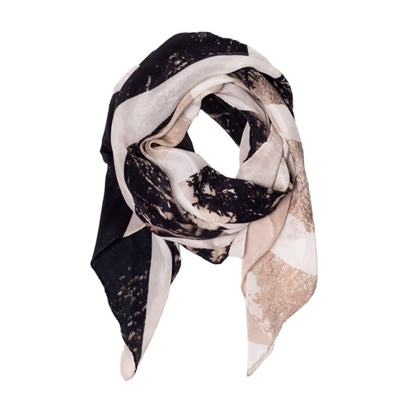 Strike Silk Scarf