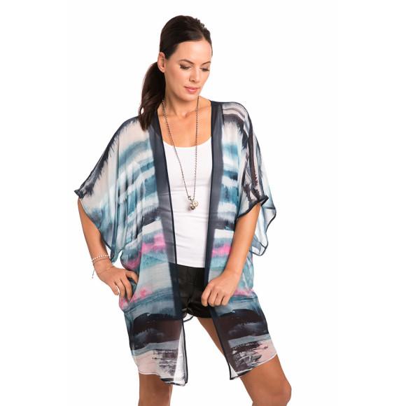 Sundown luxe kimono