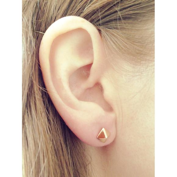 Stud Earrings gold model