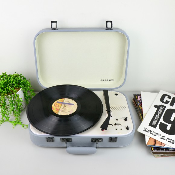 Crosley Coupe Turntables - Grey