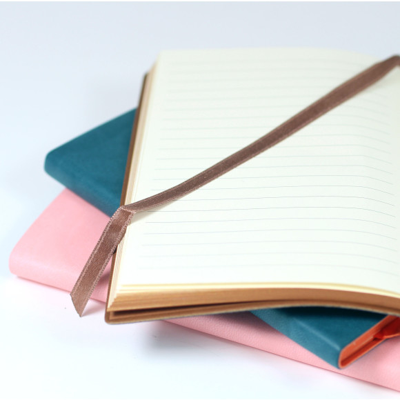All our notebooks feature smooth, cream lined pages