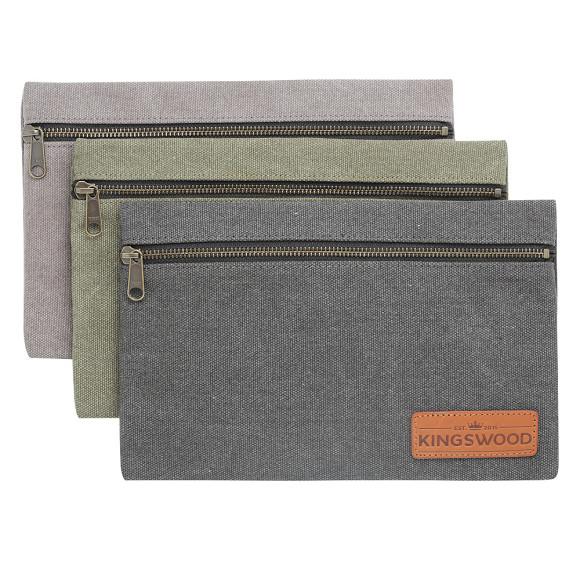 Drop bag in grey, green or black