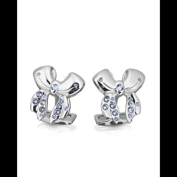 Annabelle - Sapphire Swarovski Crystal Cufflinks