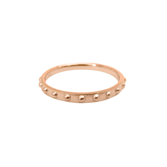 Mini Ball Eternity Ring rose gold