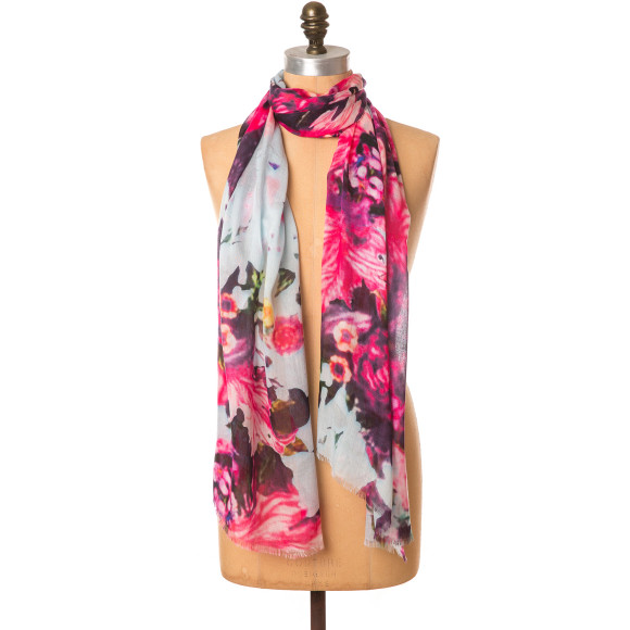 Sungarden floral scarf