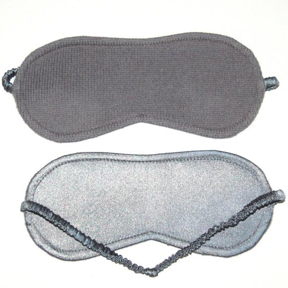 Silk/cashmere sleep mask