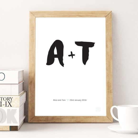 Personalised Type Print
