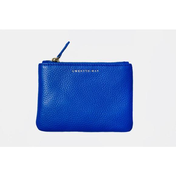 The Gia coin purse - cobalt blue