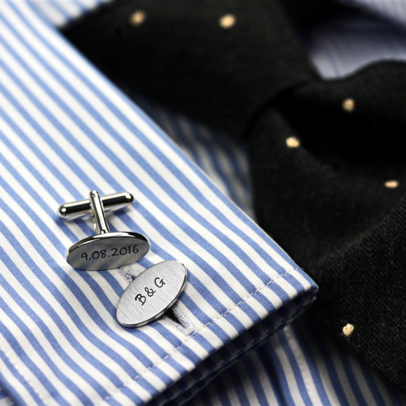 Cufflinks engraved