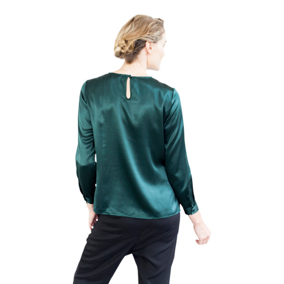 Elle dark green back