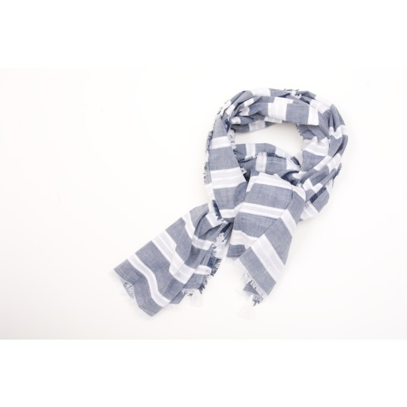 SUKA travel scarf blue