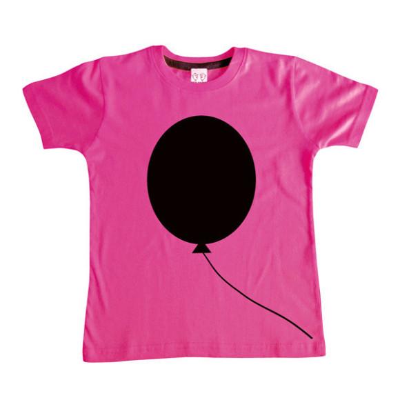 Pink Balloon Chalkboard Tee