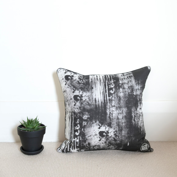 Hector Rose Ink Smudge Cushion