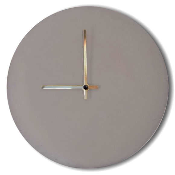 XL Concrete Clock
