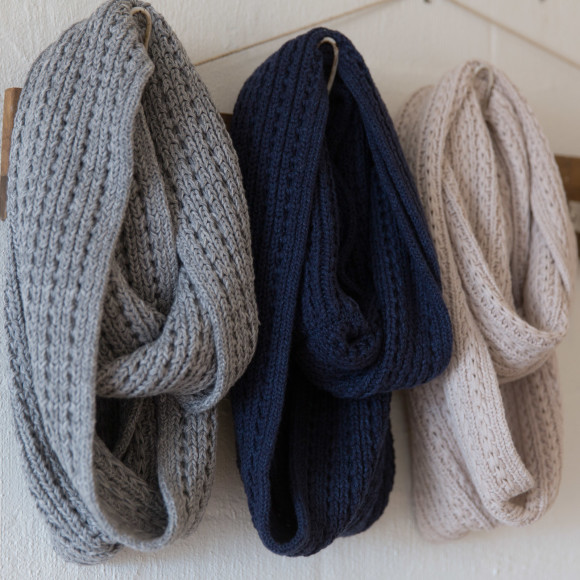 All three colours Knit panel loop