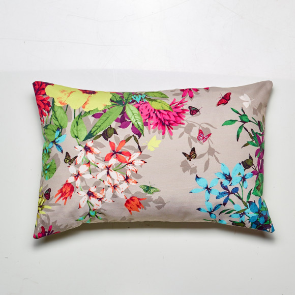 Tropicana cushion in beige