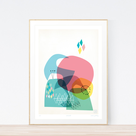 Carousel Art Print (Framed)