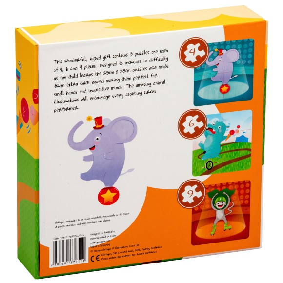glottogon circus trios x 3 puzzles