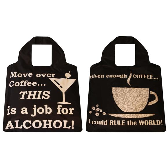 2 pack coffee & alcohol