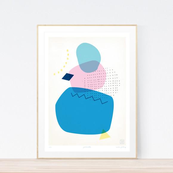 Periwinkle Art Print (Framed)