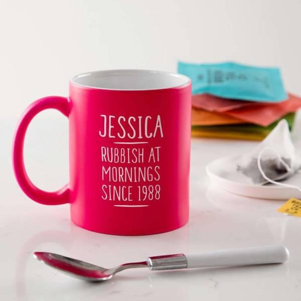 Personalised 30th Birthday Mug For Women