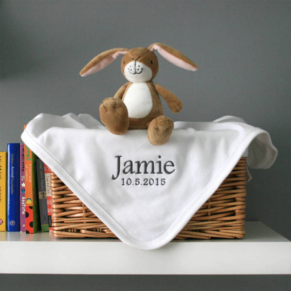 3ee9e9aa8 Personalised Cotton Baby s Blanket