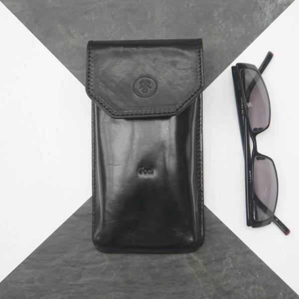 33e245ceeb5 Personalised Gabbro Italian leather glasses case