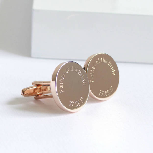 Rose gold cufflinks french shirt cufflinks rose gold gift copper rose copper anniversary gifts,rose gold jewelry rose gold gift ideas