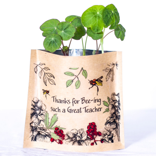 Cute Personalised Herb Bag | Beanstalk Mums