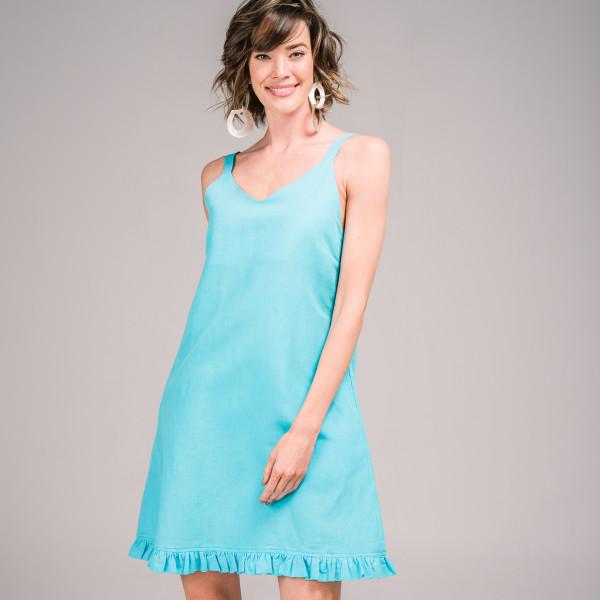 c9737df81e2 Krissi Dress in Bright Aqua