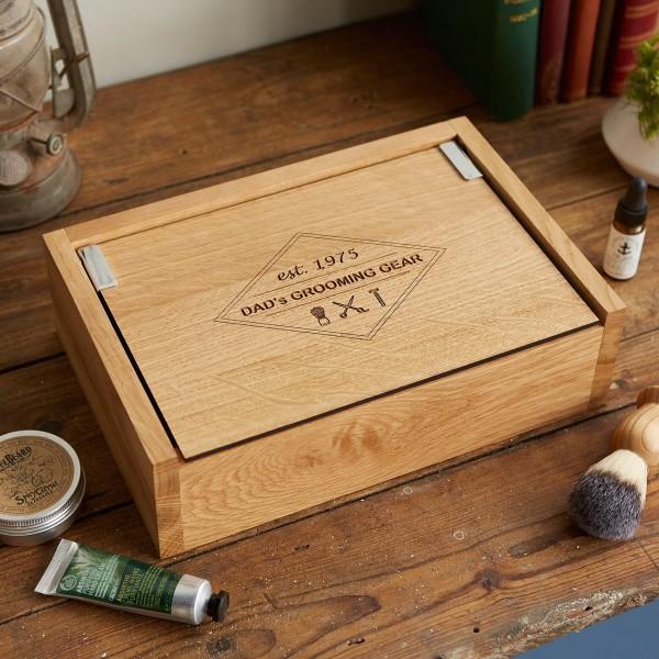 Personalised Grooming Box With Customised Storage