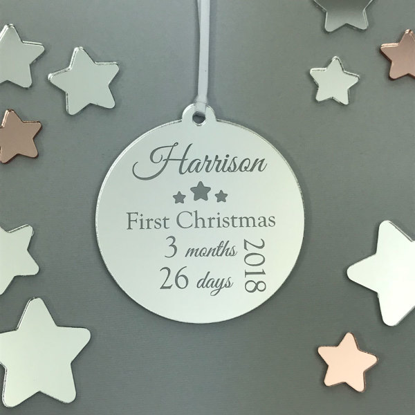 New Deals On Babys First Christmas Ornament My First Christmas Its