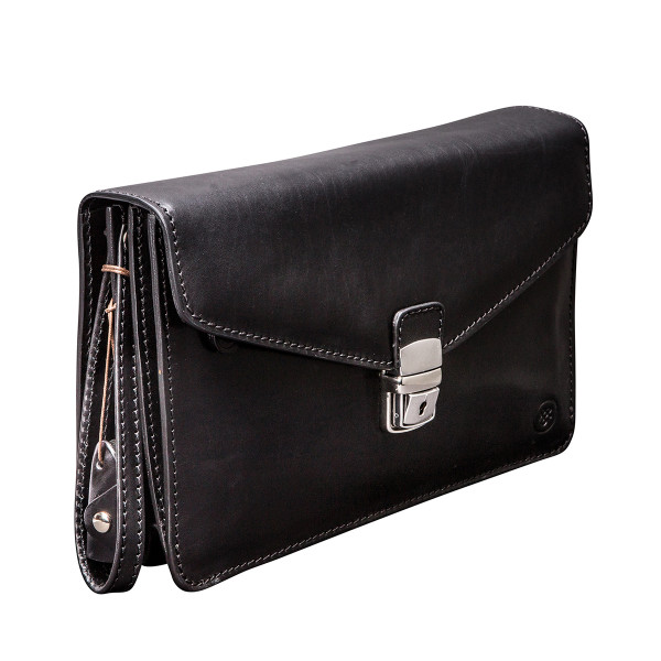 7299451c3 The Santino Mens Leather Clutch Bag With Wrist Strap.   hardtofind.