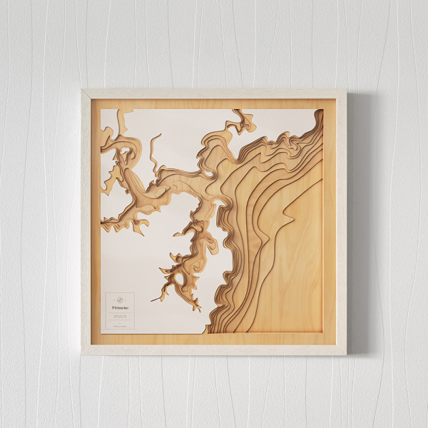 3d Map Of South Australia.Wooden 3d Contour Map Of Pittwater