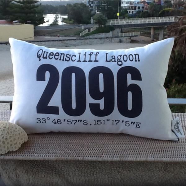 Suburb/Postcode/Longitude/Latitude Cushion