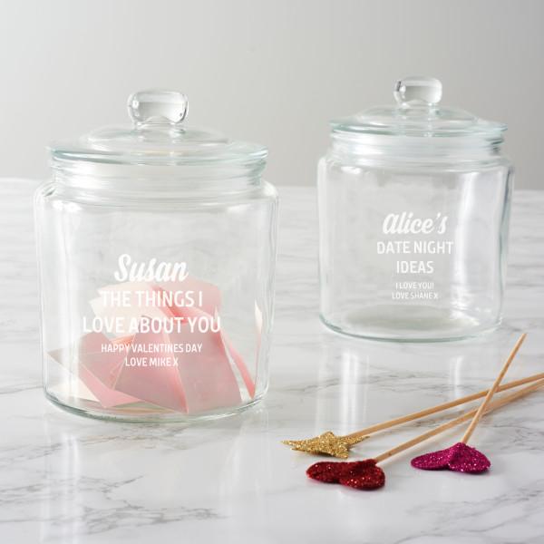 Personalised Love or Date Night Jar | Beanstalk Mums