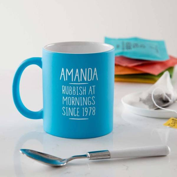 Personalised 40th Birthday Mug For Her