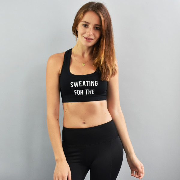 58290c3215c18 Sweating For The  8230  Personalised Sports Bra
