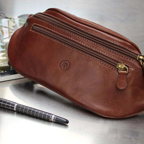 1ccf282e72 The Centolla Luxury Italian Leather Bum Bag   hardtofind.