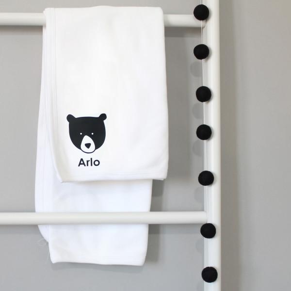 0d442197af5af Personalised Baby Bear Blanket