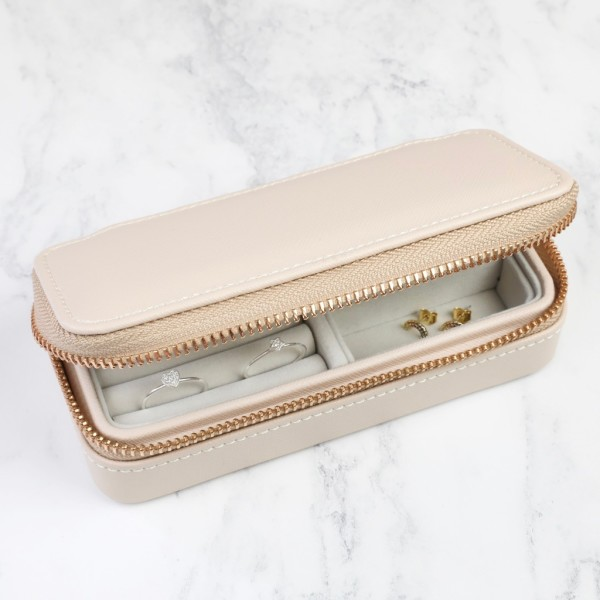 Stackers Blush Pink Medium Jewellery Travel Box
