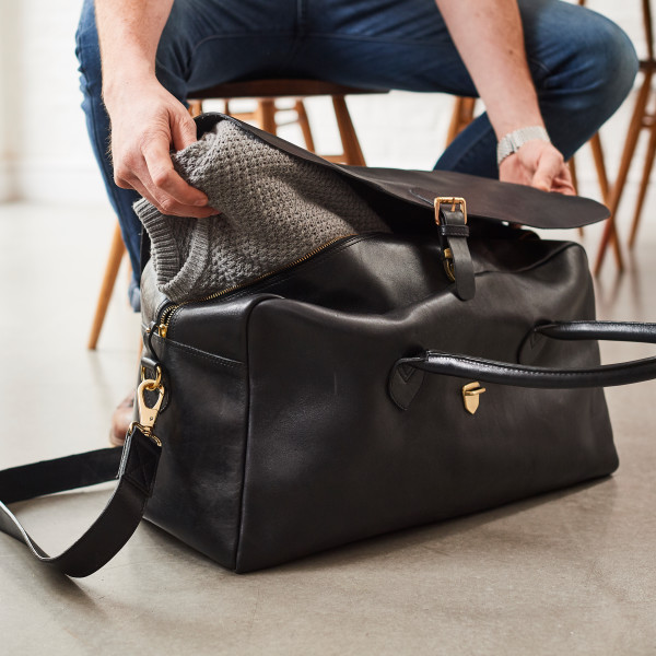 Luxury Leather travel bag  Herbert   92af152169f97