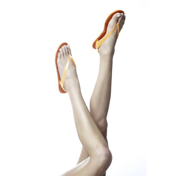 f51b77d74 Flipsters foldable flip flop shoes in orange